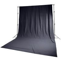 Фон черный HRB1530 1.5x3 м