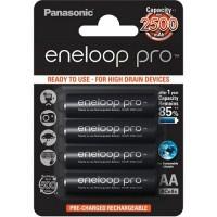 Аккумуляторы Panasonic Eneloop Pro BK-3HCDE/4BE 4xAA 2500mAh