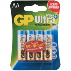 Батарейки алкалиновые GP Ultra Plus GP15AUPNEW-CR4 LR6 4xAA