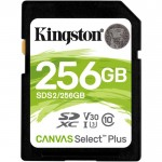 Карта памяти Kingston SDXC Class 10 UHS-I U3 V30 (100/85 MB/s) 256Gb