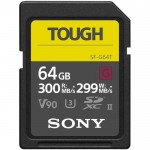 Карта памяти Sony SDXC SF-G TOUGH UHS-II U3 V90(300/299 Mb/s) 64Gb
