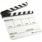 Кинохлопушка GreenBean Clapperboard 03 белая