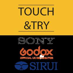Мероприятие Touch&Try Sony/Godox/Sirui, 13 июня 2019 г.